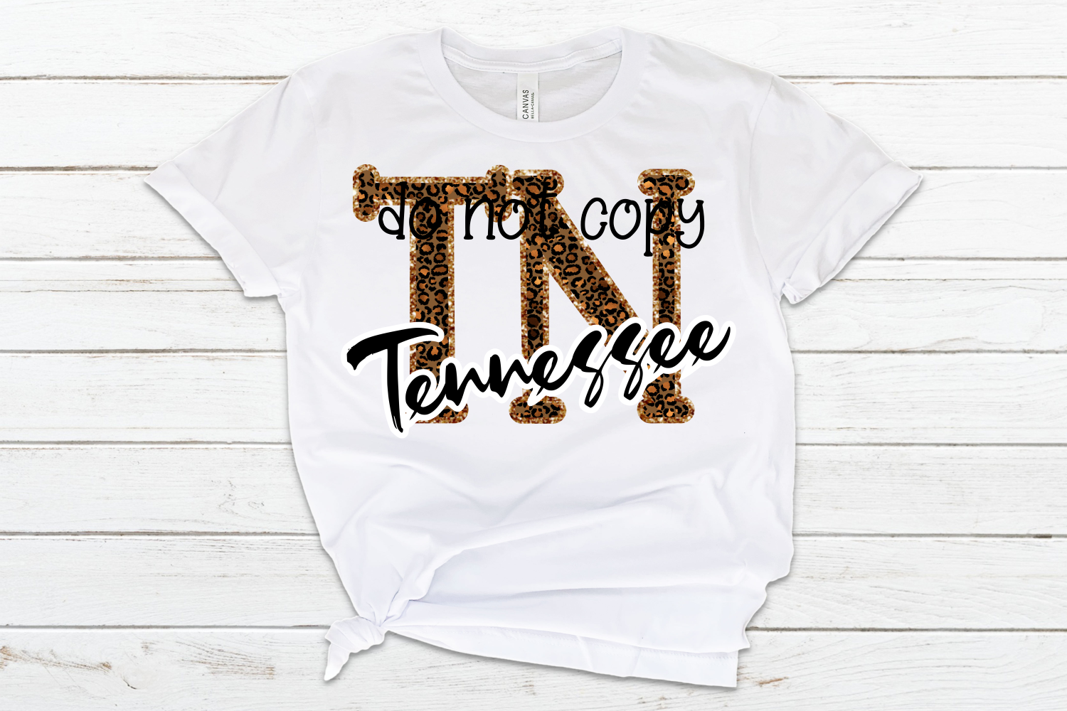 Tennessee TN State Leopard Bundle example image 4