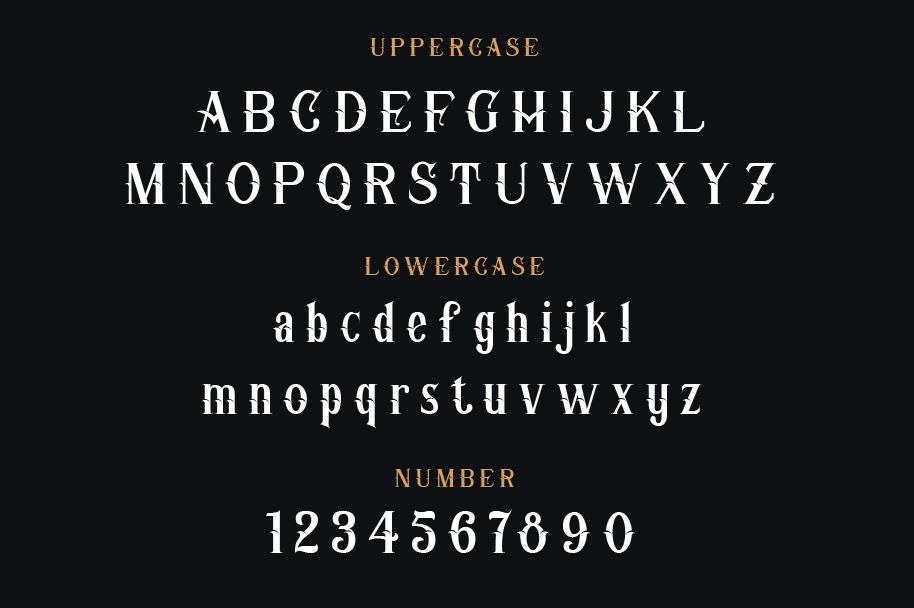 Corner Stone Typeface example image 2