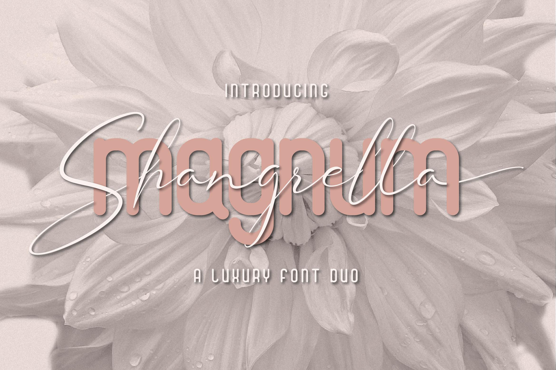 Magnum Shangrella Duo example image 1