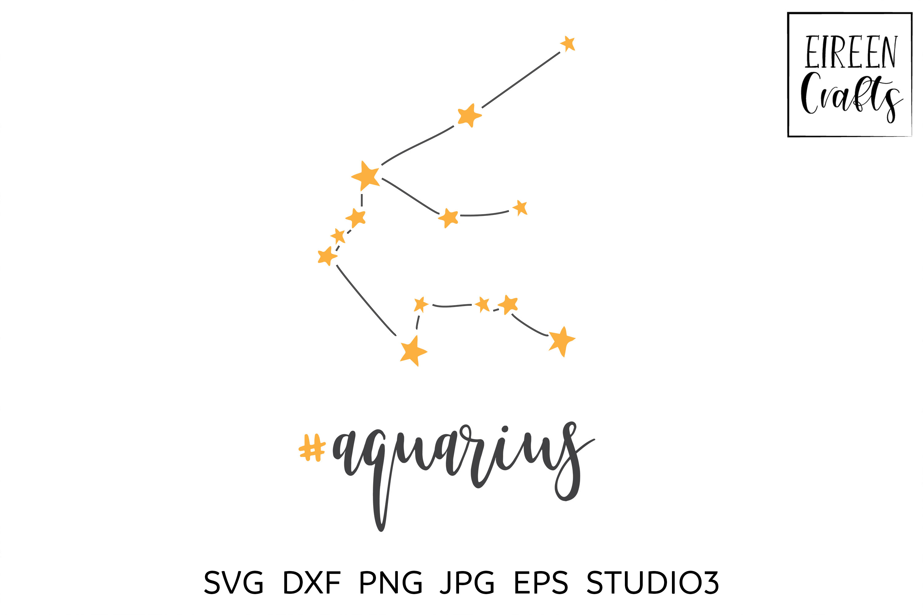 Zodiac SVG Bundle - Zodiac cut files for Cricut & Silhouette example image 12