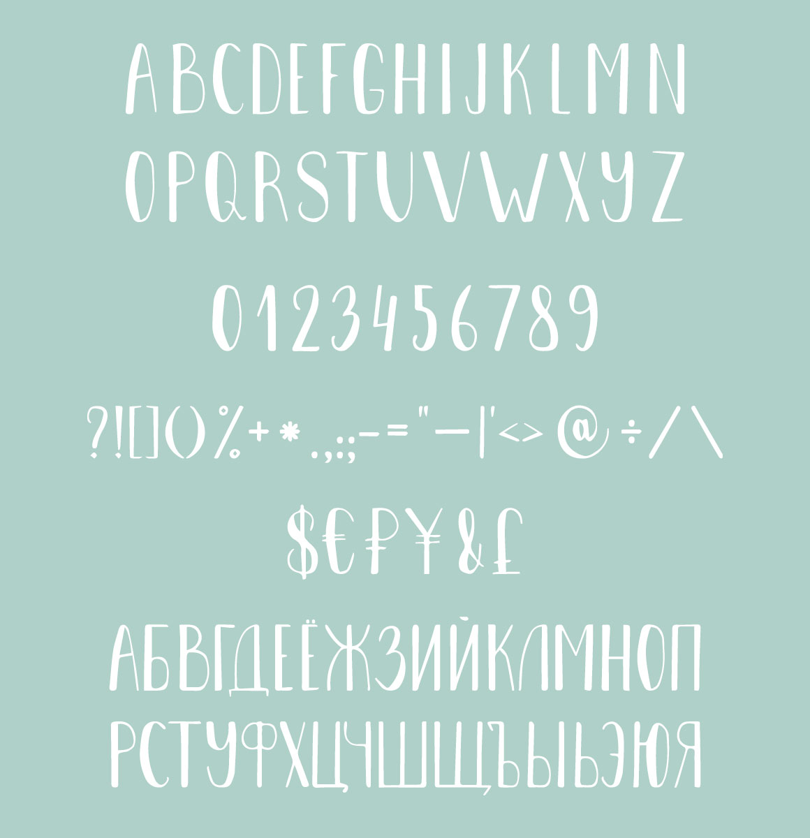 Onega Font example image 4