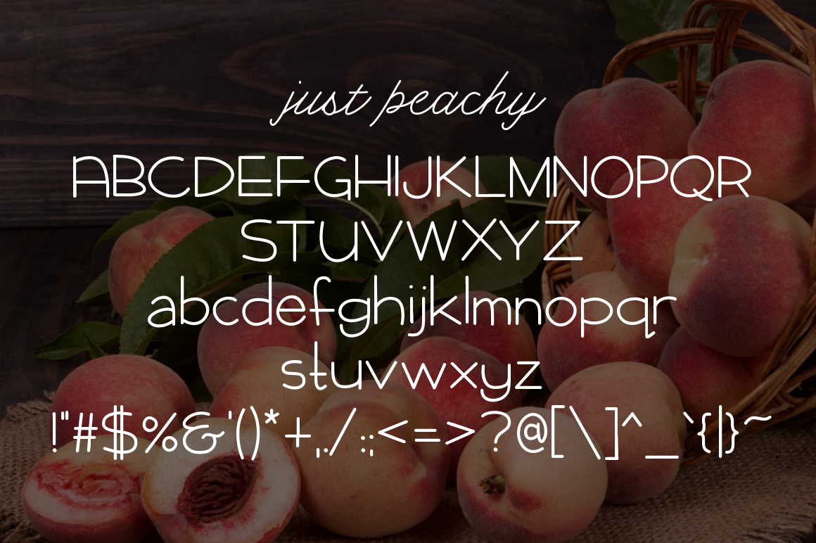 Just Peachy example image 2