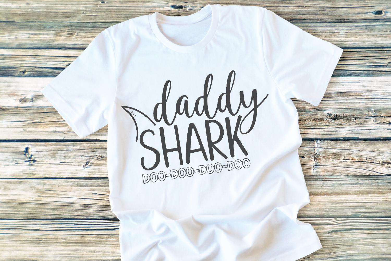 Shark Family - Shark - Daddy Shark SVG example image 2