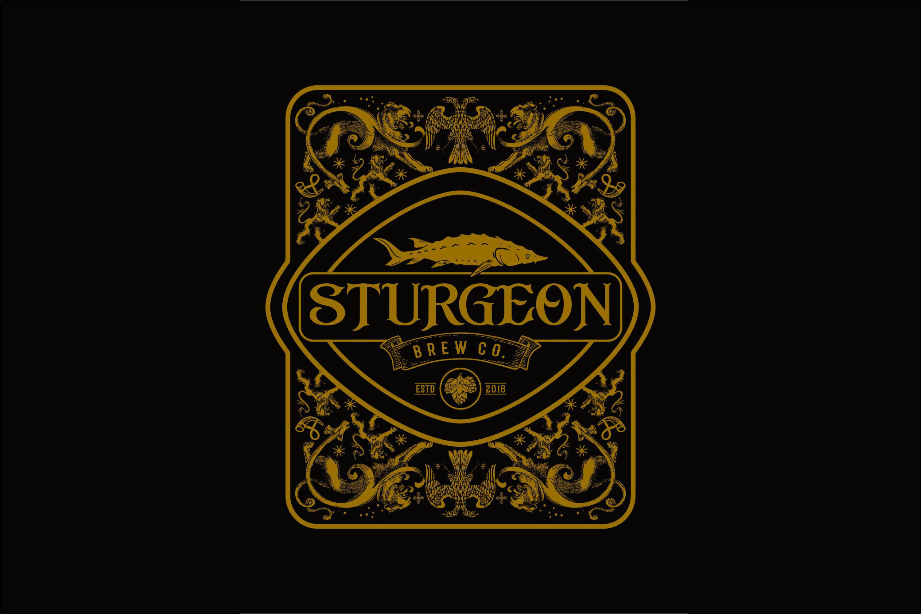 Sturgeon Vintage Logo Pack example image 2