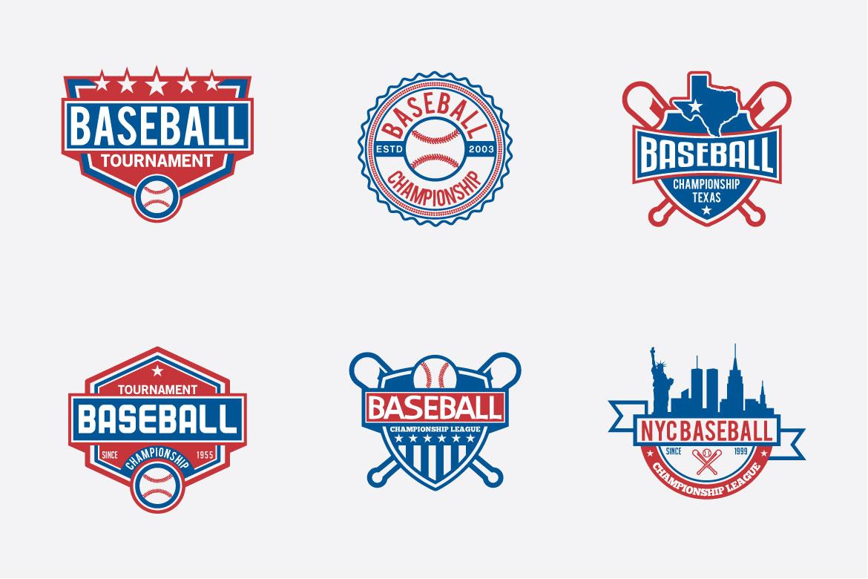 173 Sports Badges and Logo Bundle example image 7