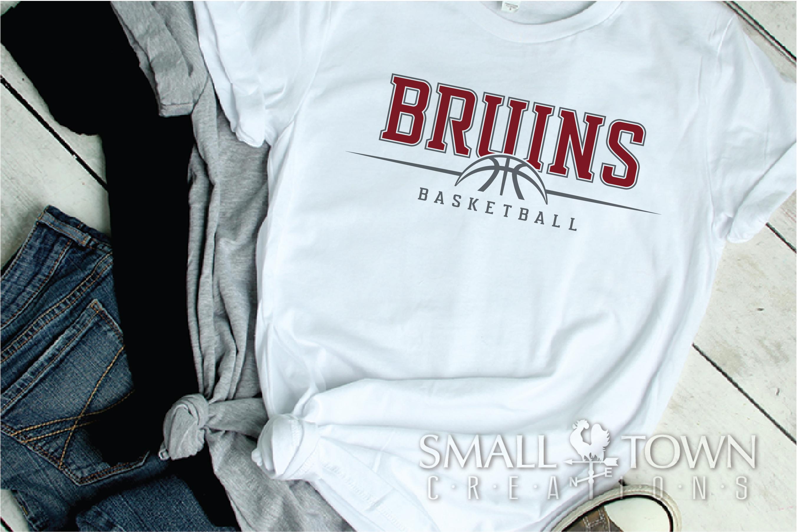 Bruin, Bruin Basketball, Bruin mascot, PRINT, CUT, DESIGN example image 2