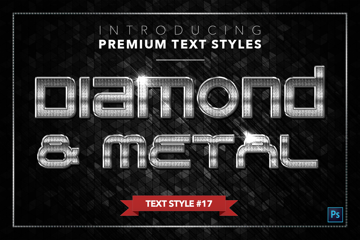 Diamond & Metal #3 - 18 Text Styles example image 18