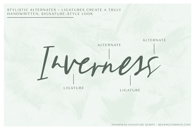 Inverness Signature Script example image 9