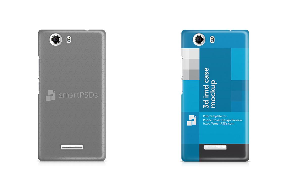 Micromax Canvas Nitro 2 E311 3d IMD Mobile Case Design Mockup 2015 example image 1