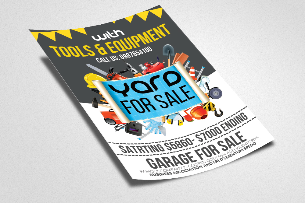 Garage & YadSale Flyer example image 3