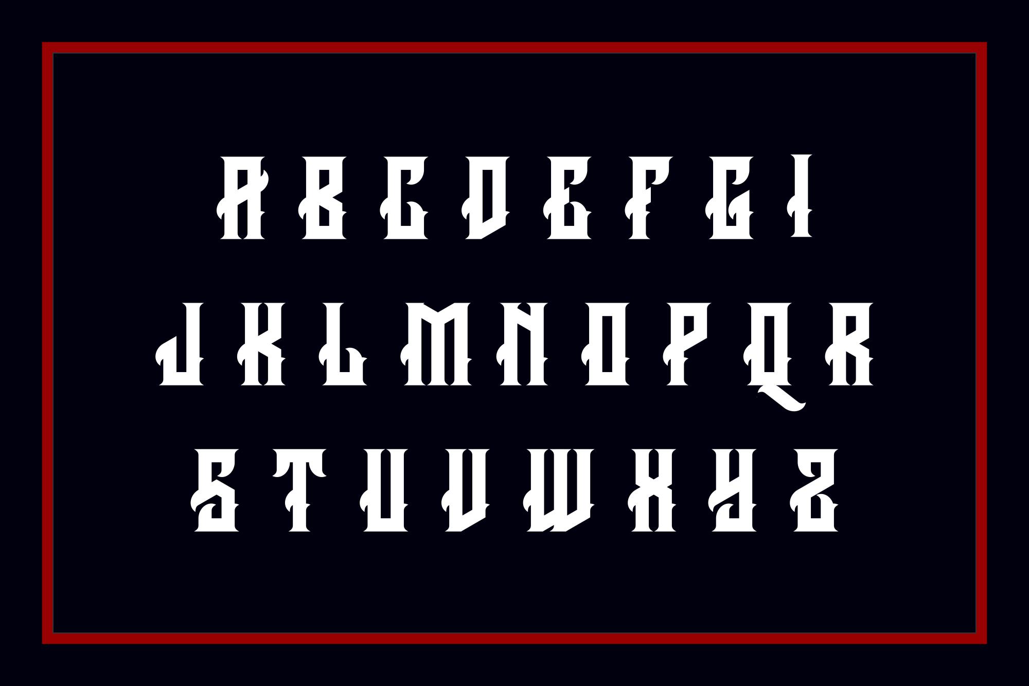 Arcana Typeface example image 3