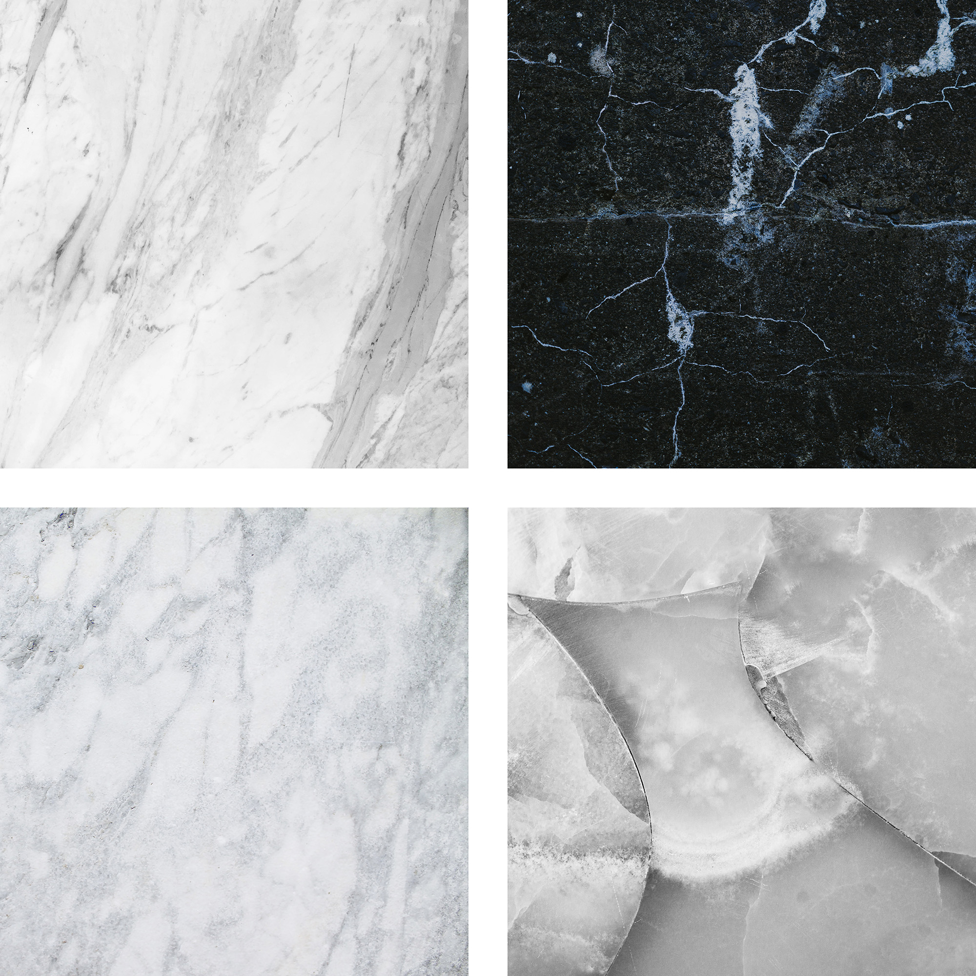 Black And White Marble example image 2