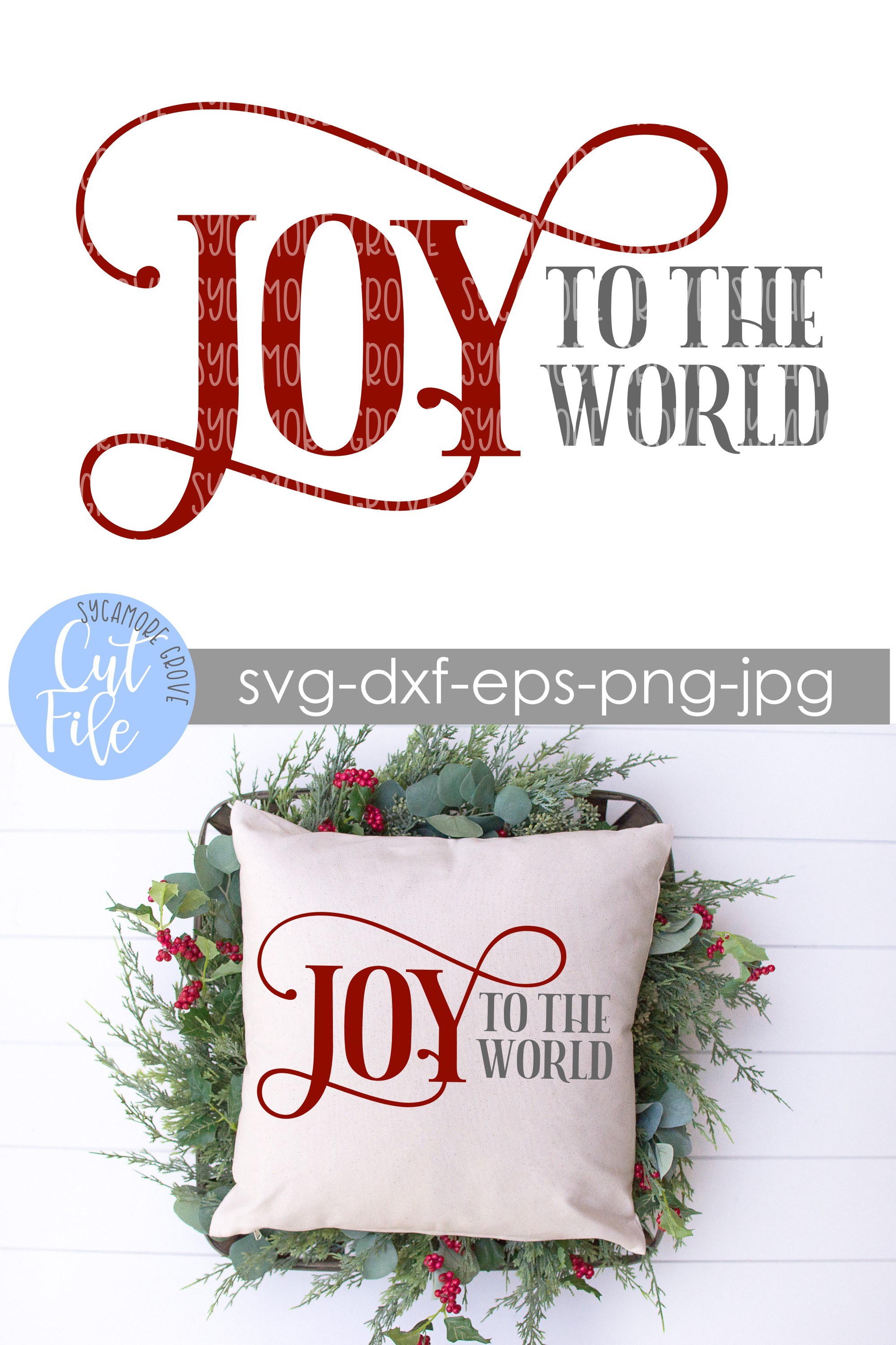 Joy To The World | Christmas SVG example image 8
