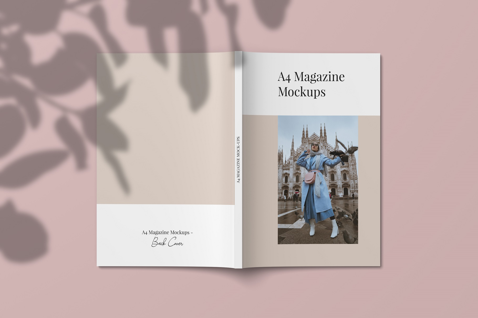 A4 and US Letter Magazines Mock-Ups example image 9