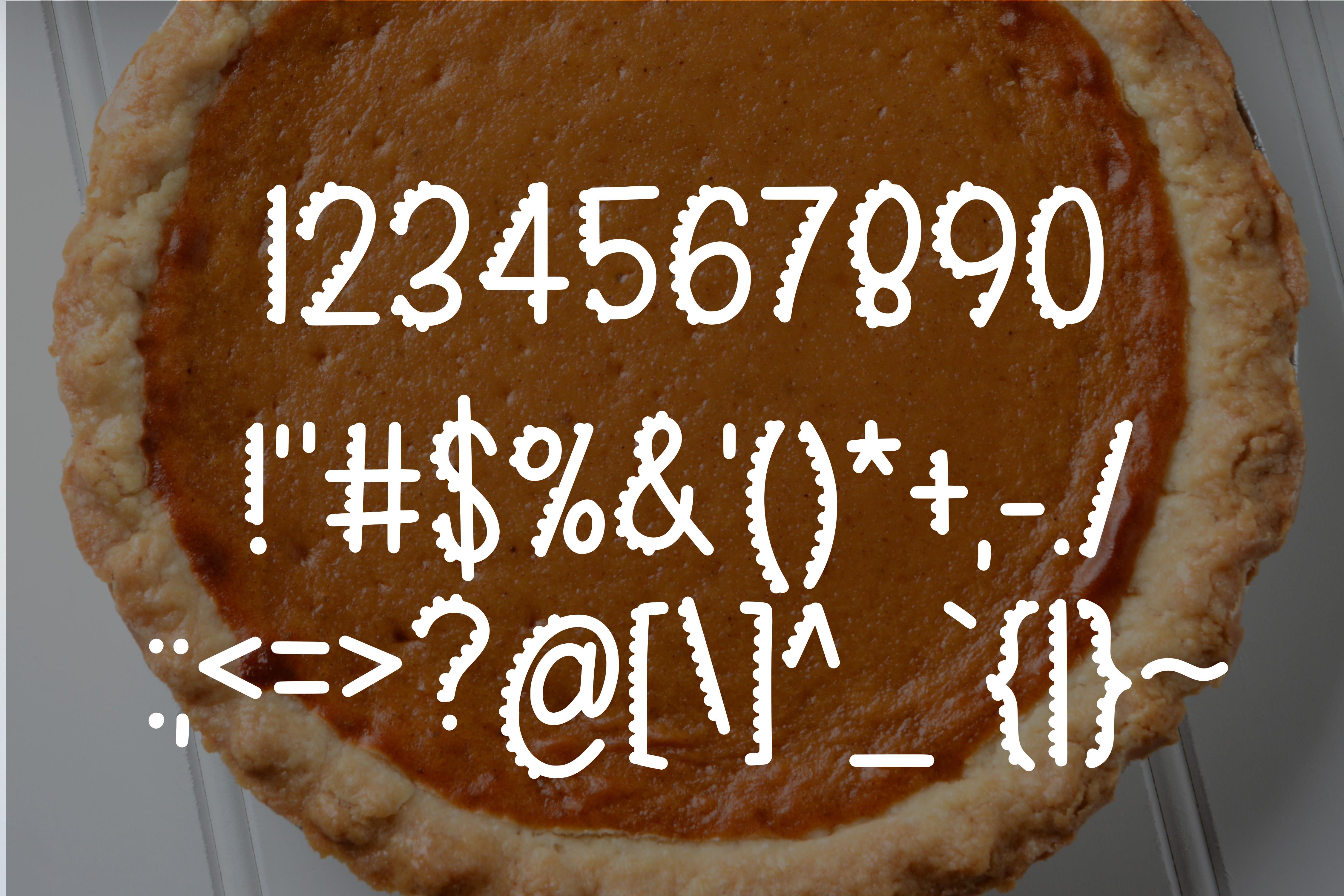 Sweet Pumpkin Pie example image 3
