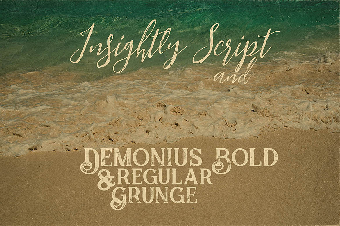 Insightly Font Duo example image 2