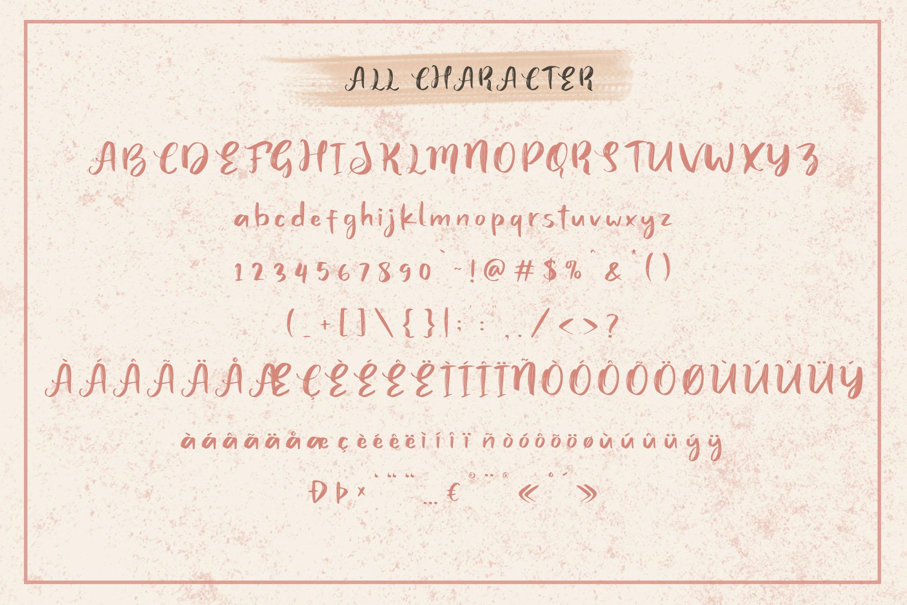 Juicy Steak - Handwritten Font example image 8