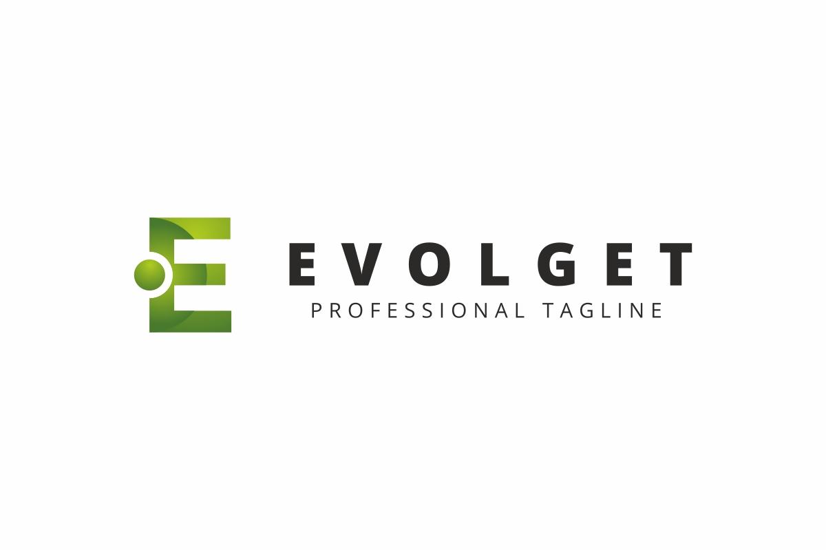 Evolget E Letter Logo example image 2