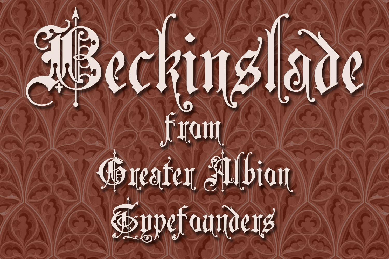 Beckinslade example image 3