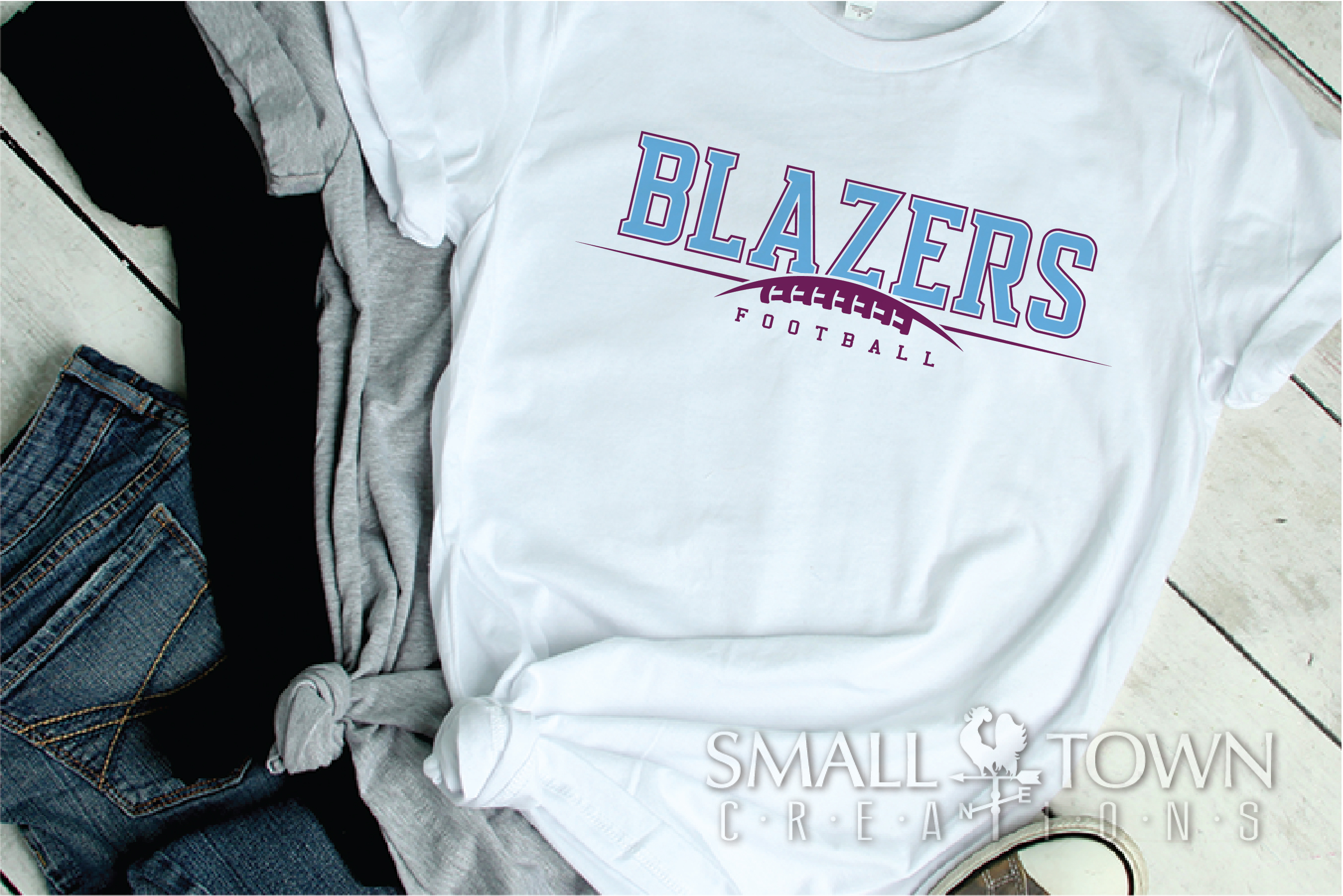 Blazer, Blazers Football, Sports, Design, PRINT, CUT, DESIGN example image 2
