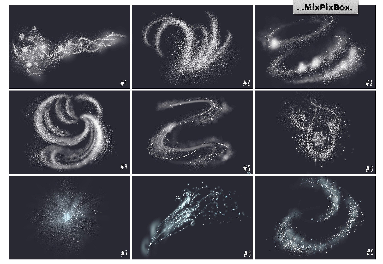 Snow Magic Overlays example image 2