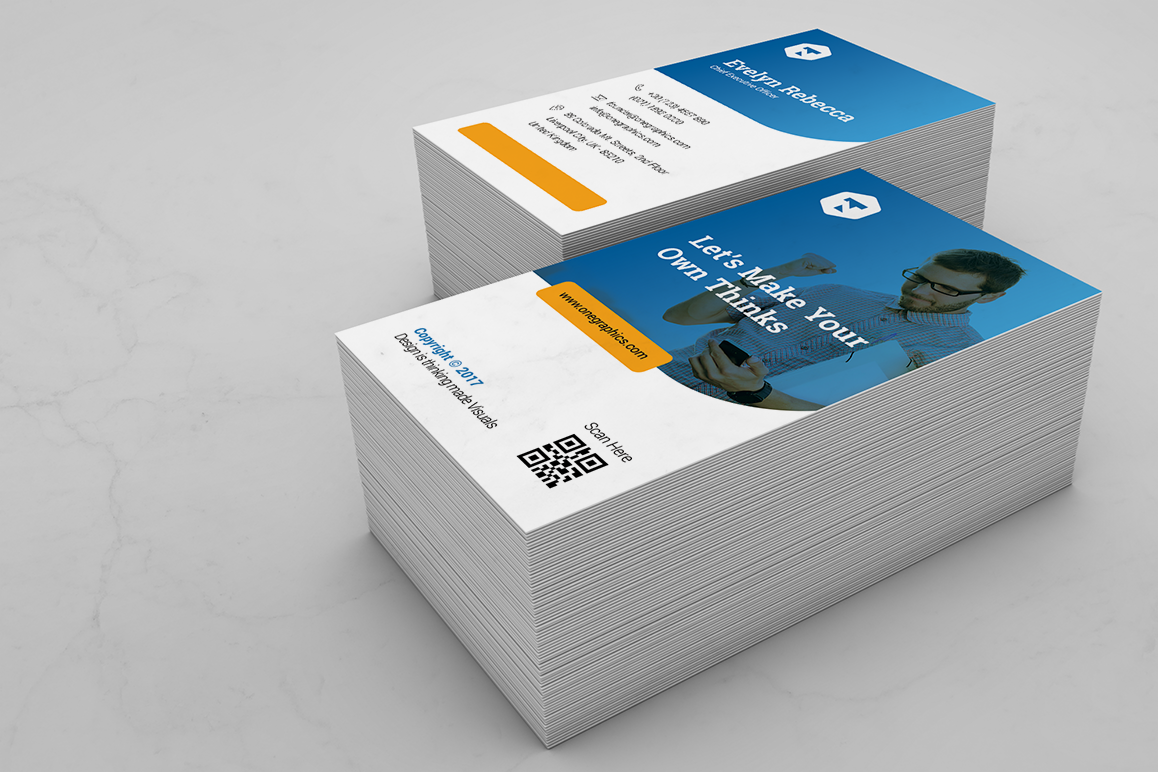 Minimal Business Card Vol. 10 example image 2