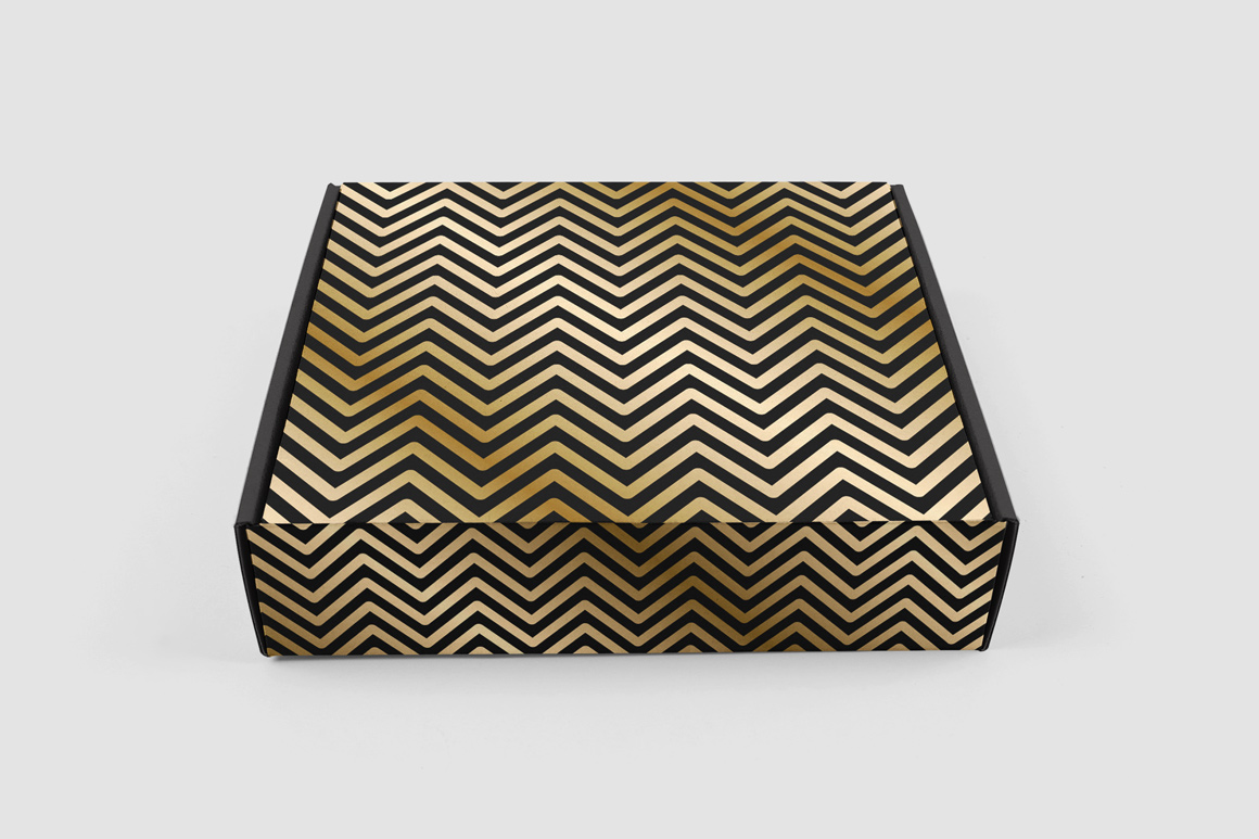 Luxury seamless striped patterns example image 4