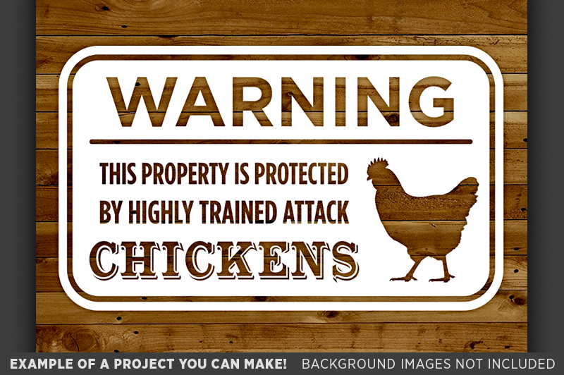 Funny Chicken Signs: SVG Farmhouse Sign SVG Printable