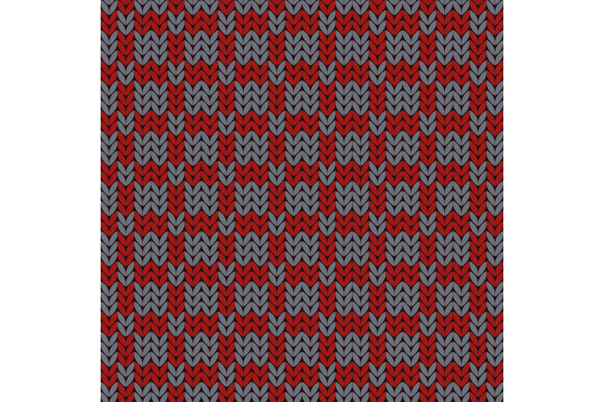 Set of 12 seamless knitted backgrounds. example image 8