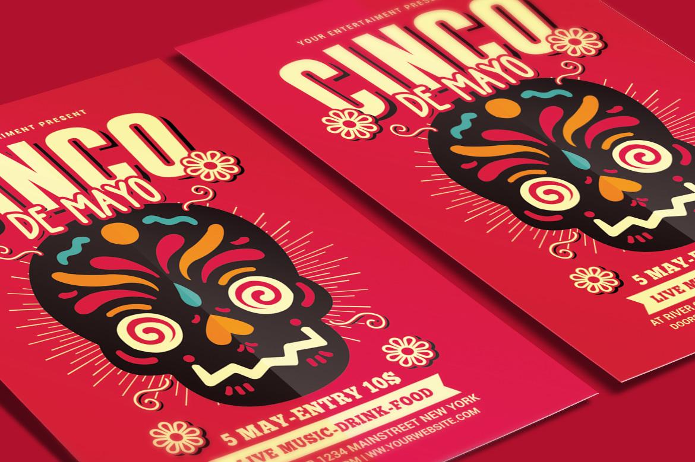 cinco de mayo flyer by muhamadiqbalhida design bundles