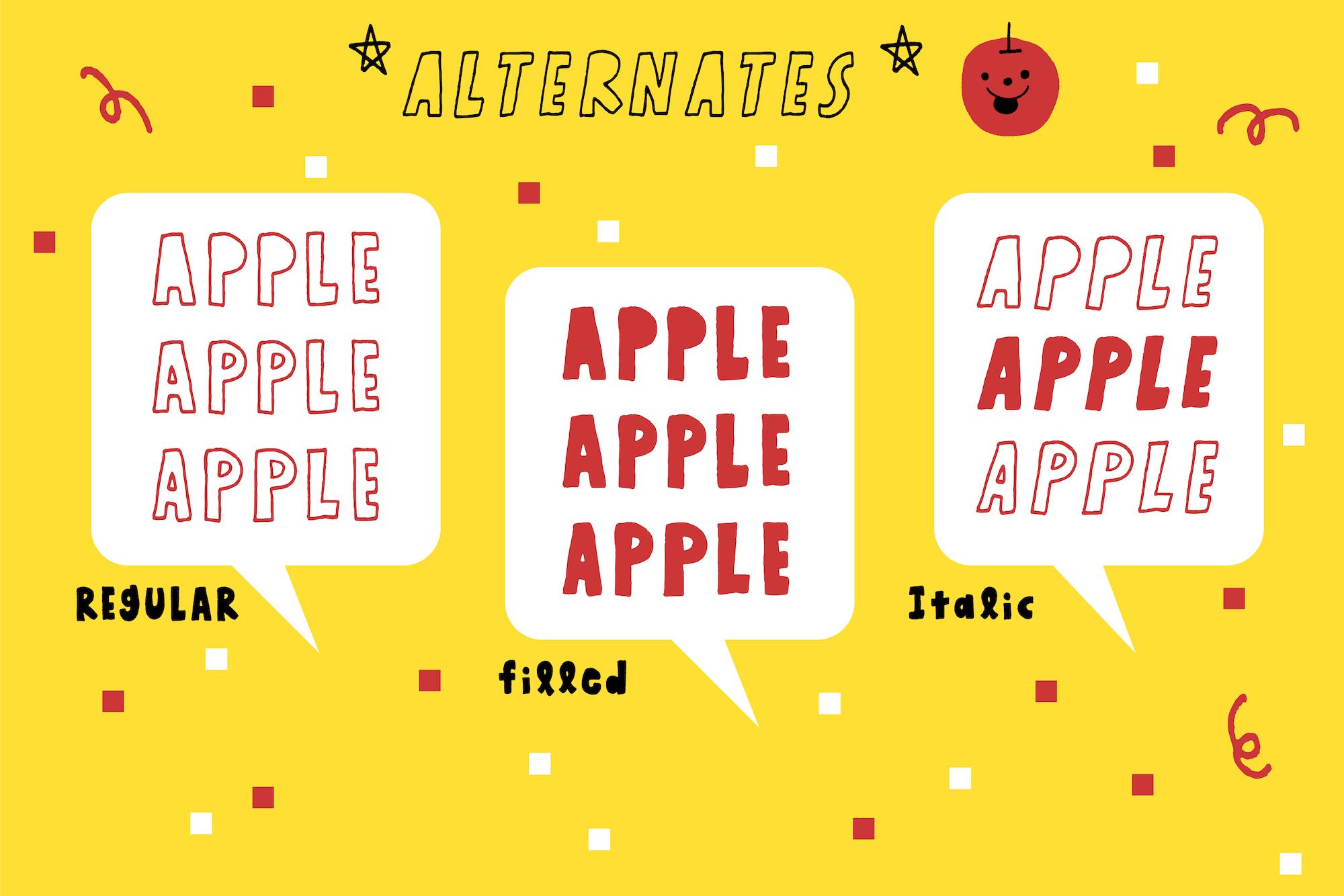 Honey Apple example image 9