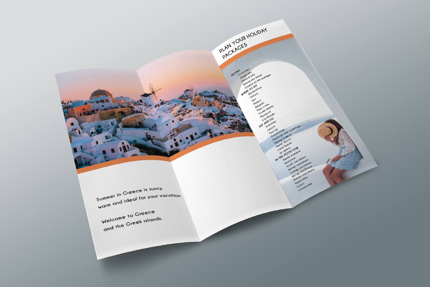Trifold Travel Agency Brochure Templates A4 example image 5