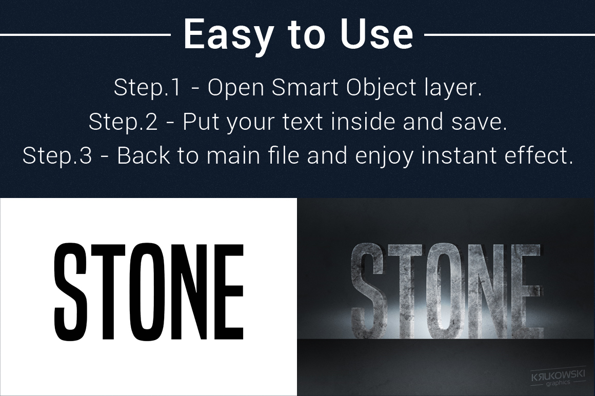 Text Effects Styles Bundle for Photoshop  example image 2