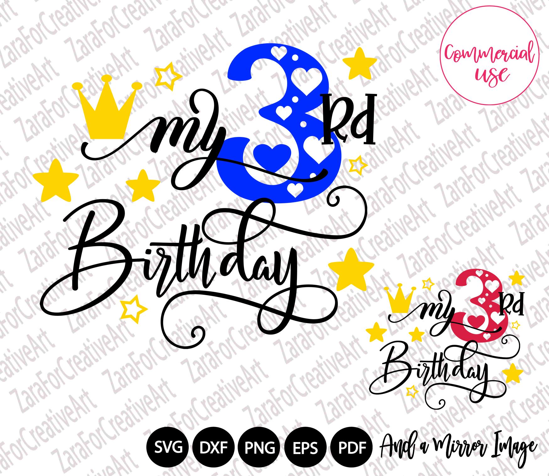 my birthday svg bundle, birthday girl bundle birthday boy , example image 4