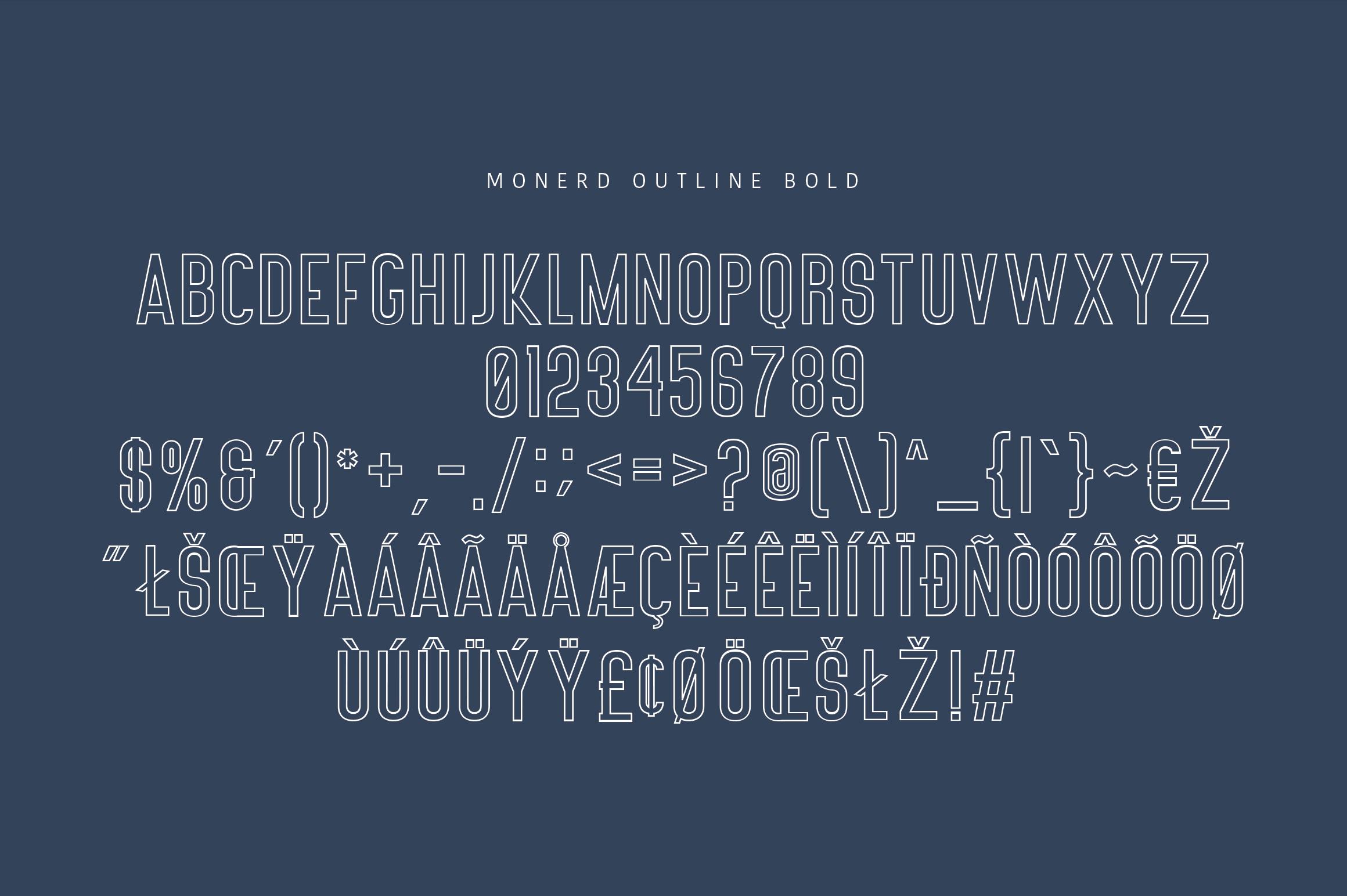 Monerd - Simply Sans Serif example image 14