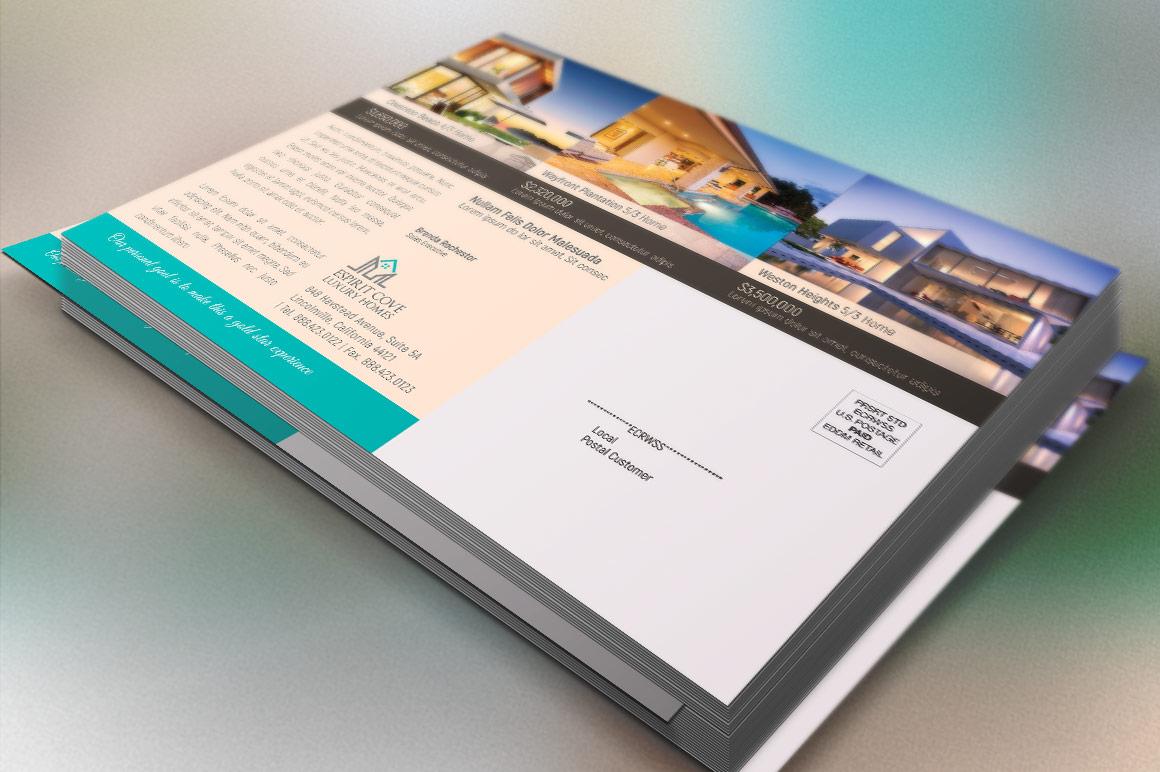 Real Estate EDDM Postcard Template example image 4