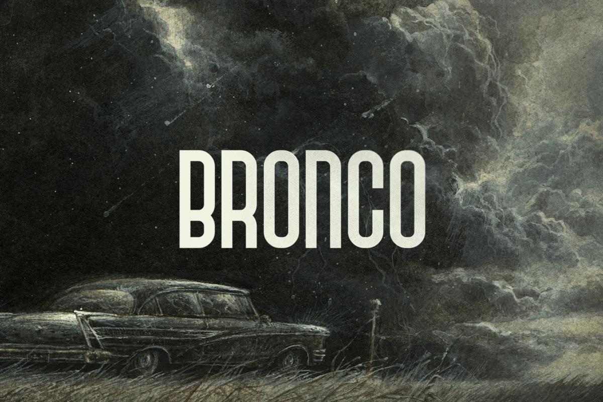 Bronco Typeface example image 1