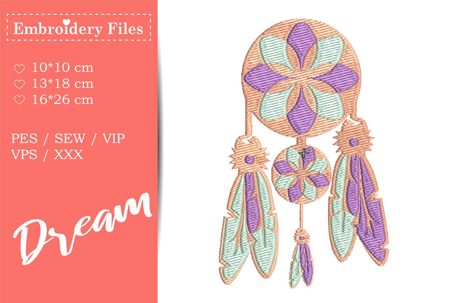 Dreamcatcher - Embroidery File for Beginners example image 2