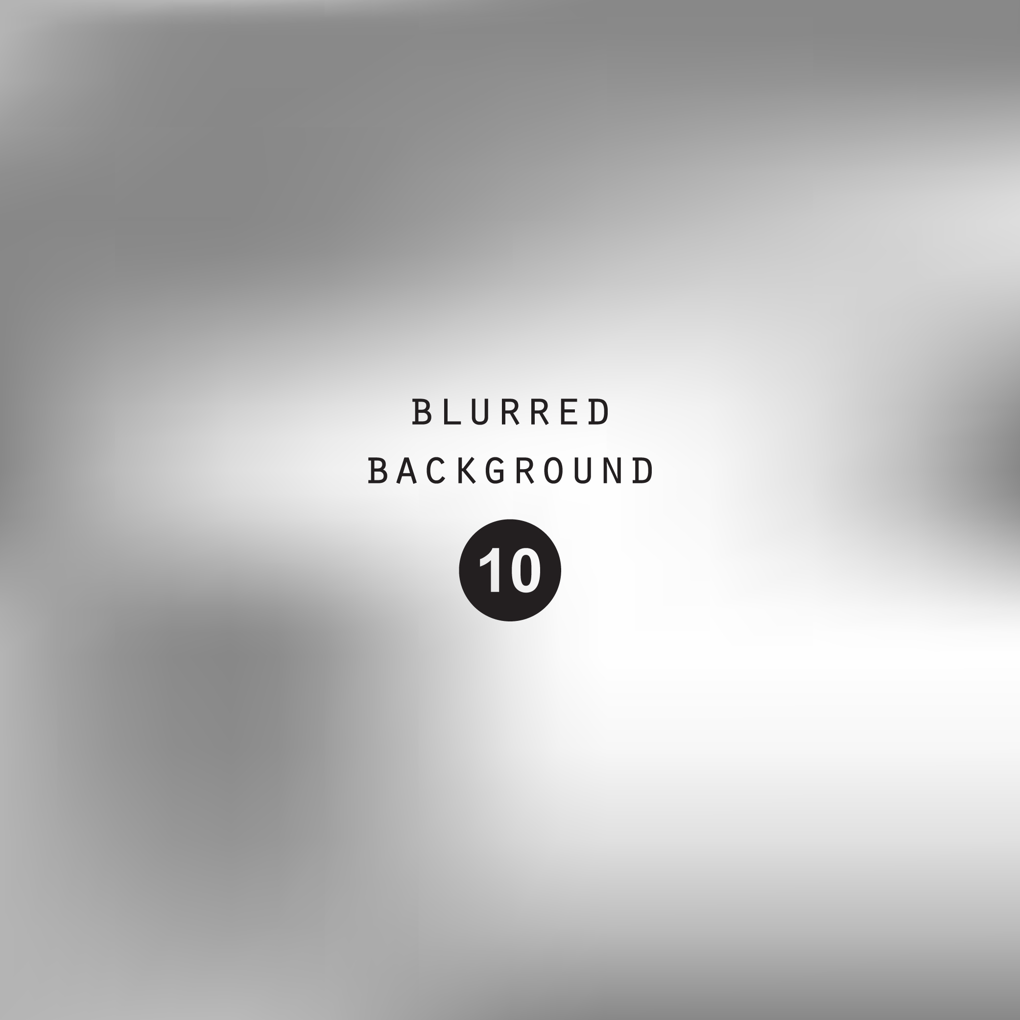 Blurred silver abstract gradient background example image 5