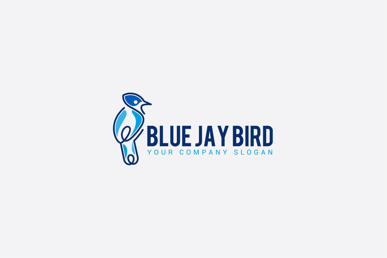 BLUE JAY BIRD LOGO example image 1