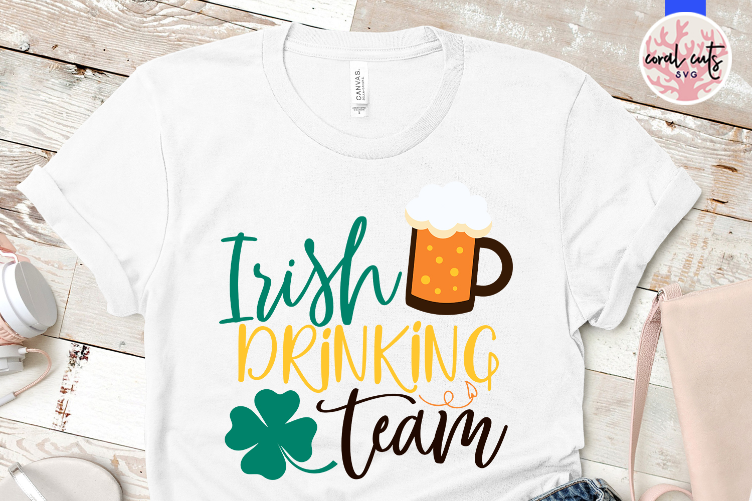 Irish drinking team - St. Patrick's Day SVG EPS DXF PNG example image 2