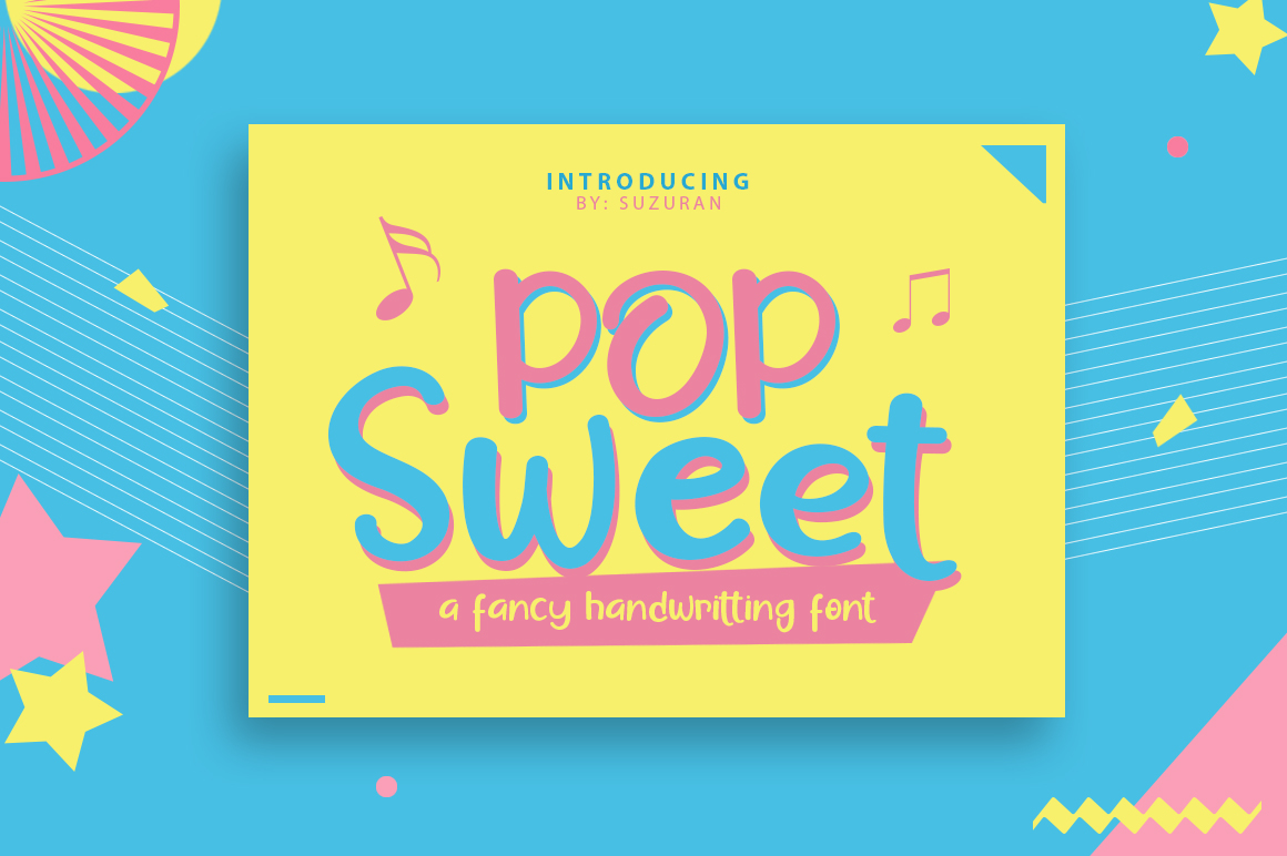Pop Sweet example image 1