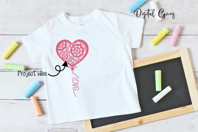 Balloon, Valentines / love design example image 6