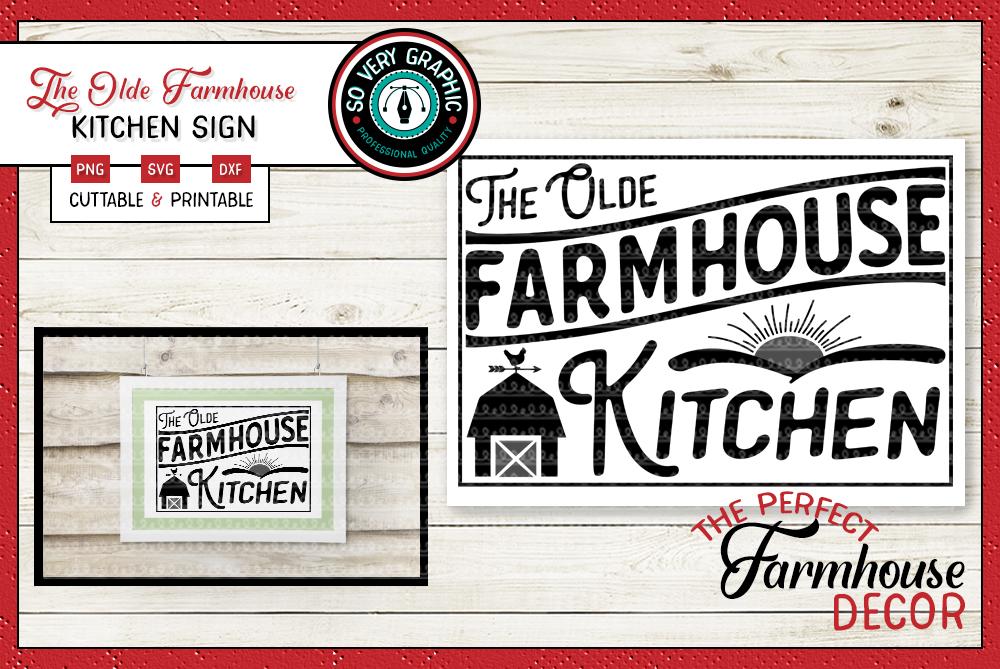 Vintage Farmhouse Bundle | Over 50 Designs | SVG Cut Files example image 27