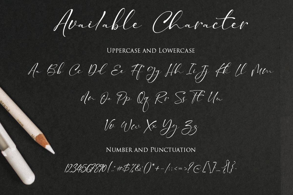 Taman Signature   Stylish Modern Script example image 4