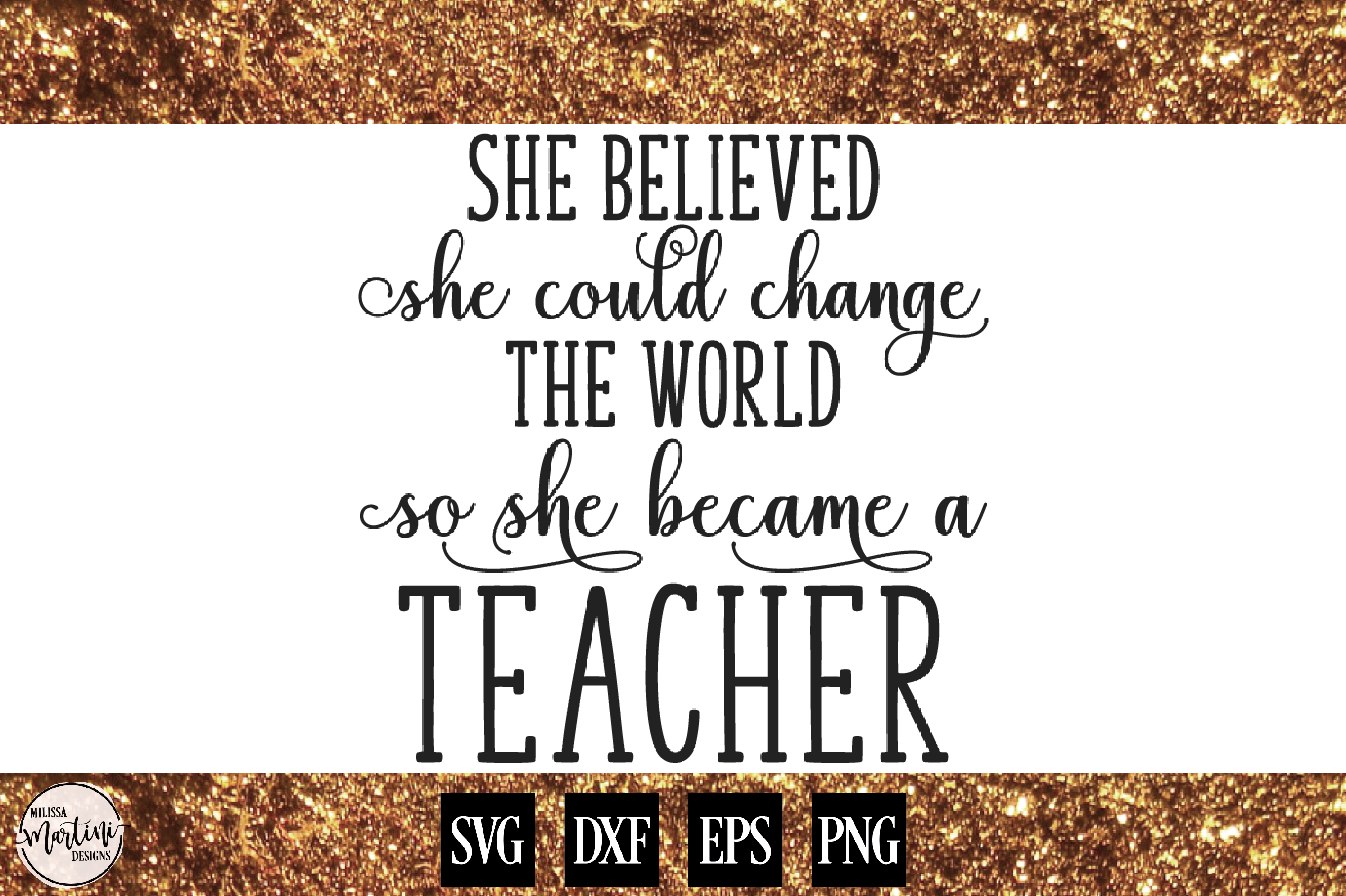 She Believed She Could Change The World example image 1