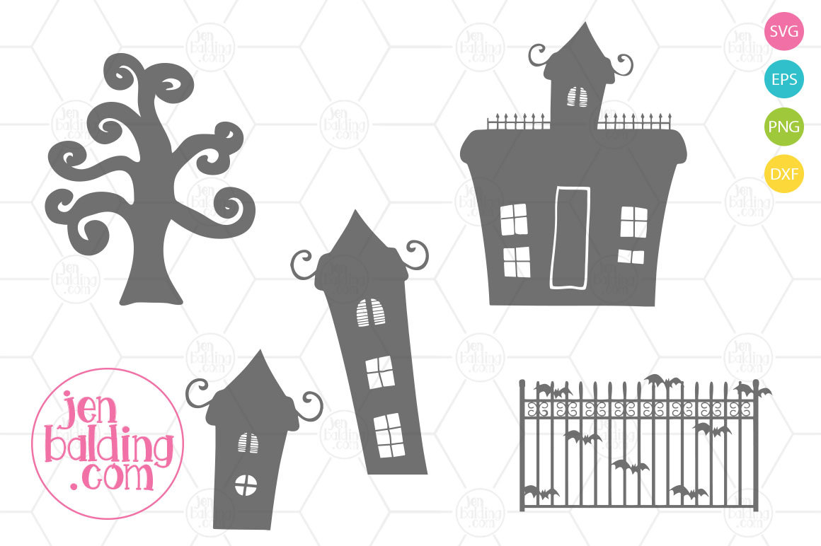 Creepy Scene Builder SVG example image 3