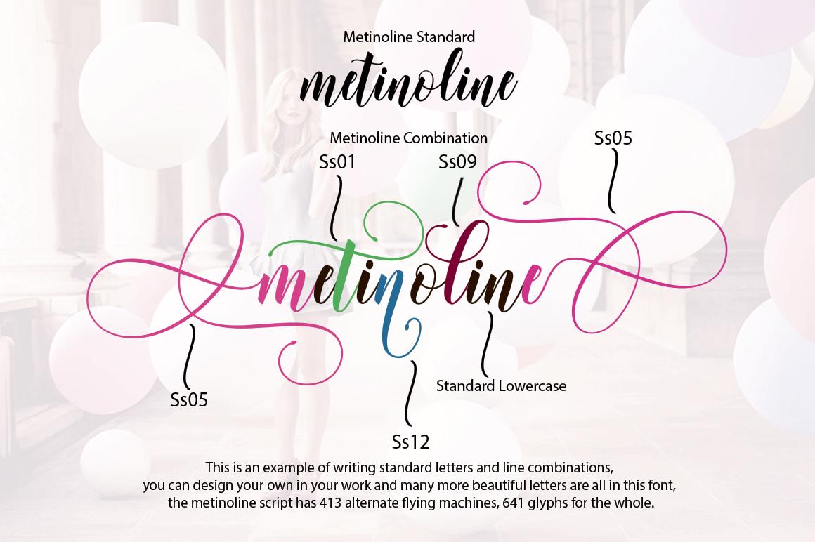 Metinoline Script example image 12