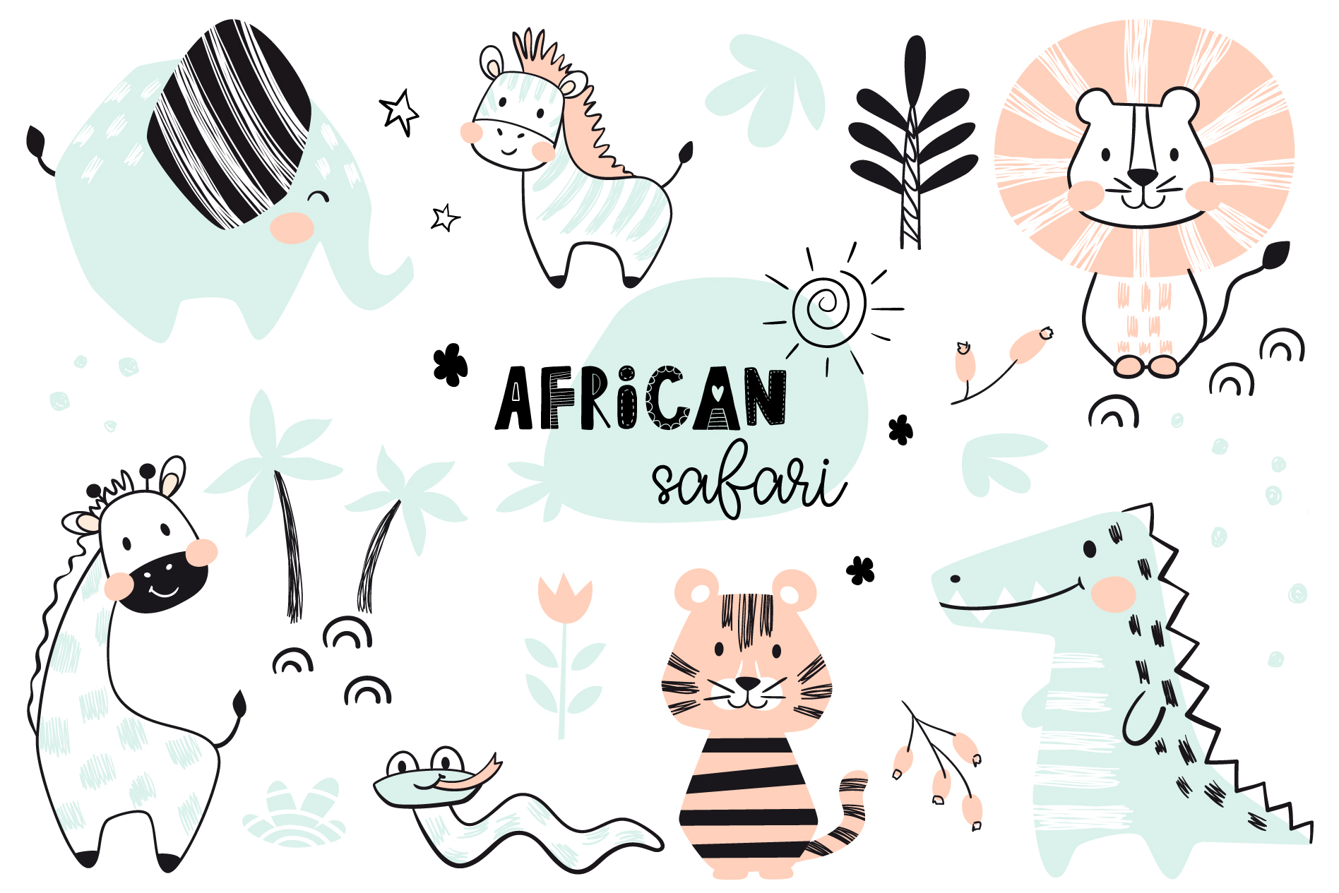 African animals example image 5