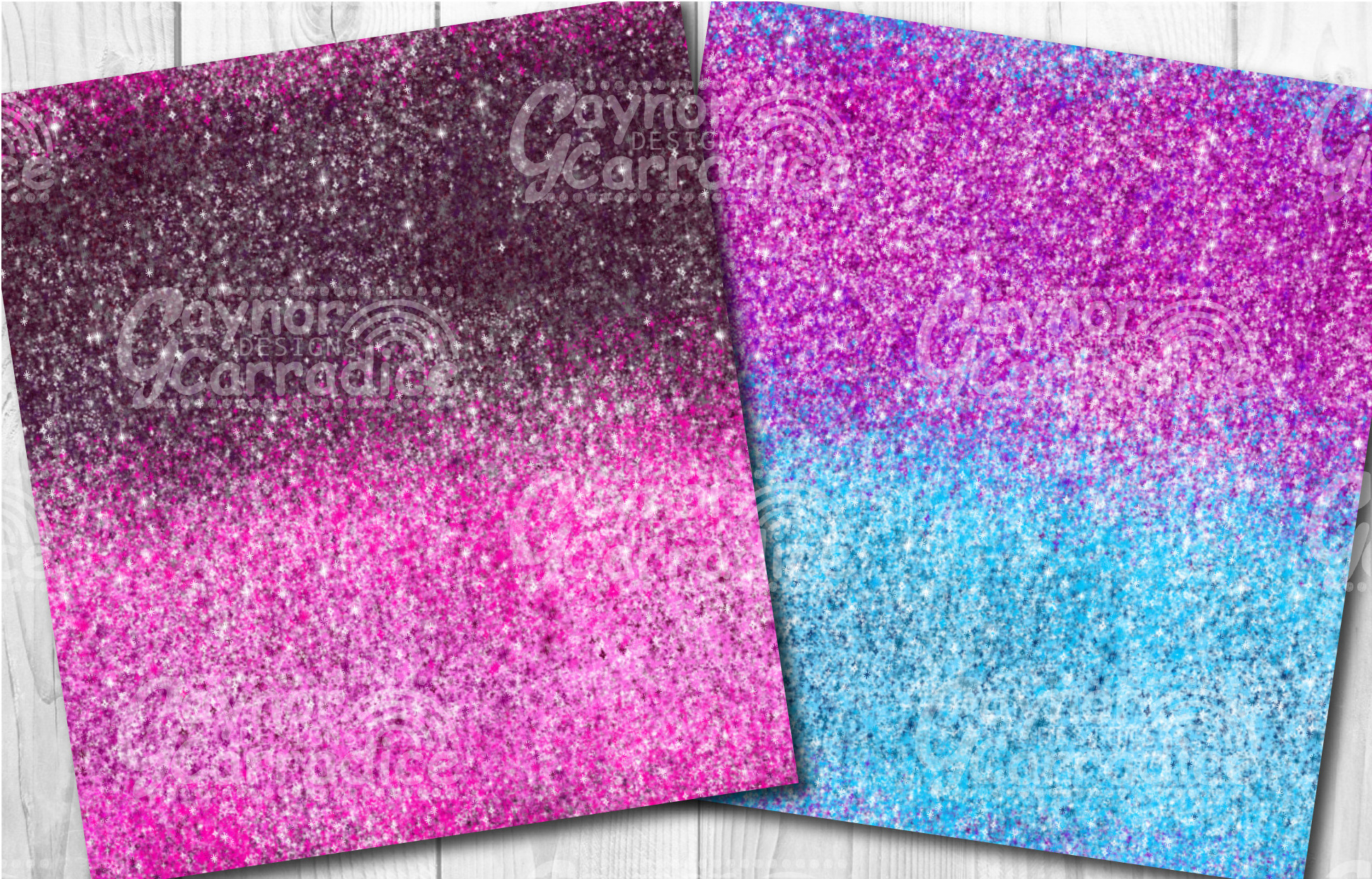 Ombre glitter collection example image 5